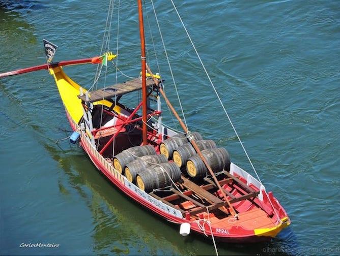 barco rabelo porto