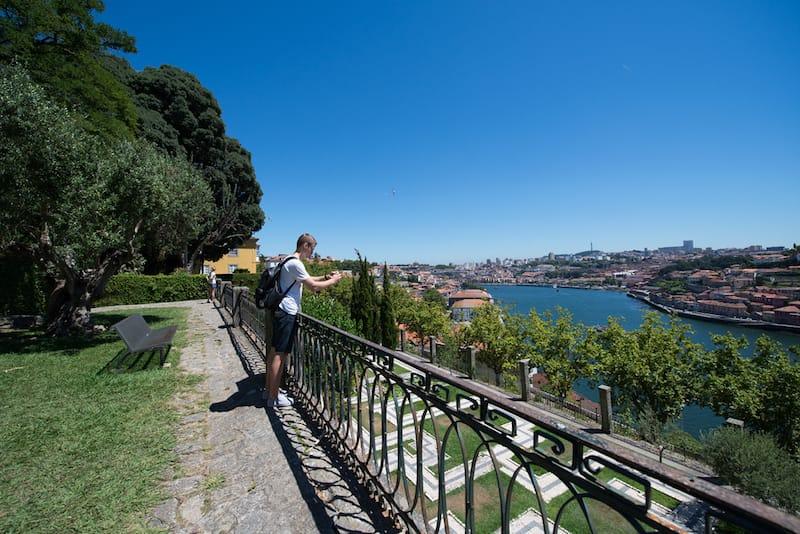 melhor vista porto jardins palacio cristal