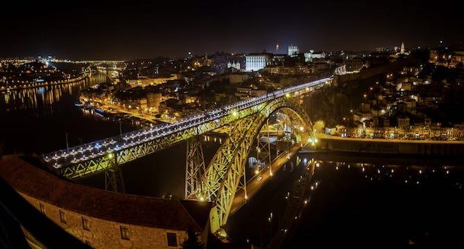 melhores mirantes porto serra pilar vista sobre ponte luis