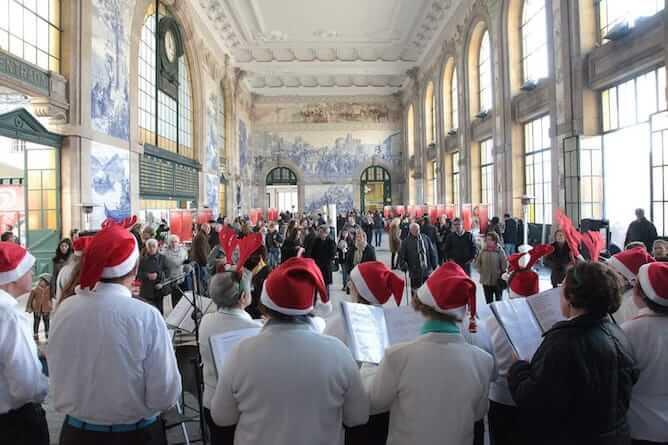 arca natal christmas market porto