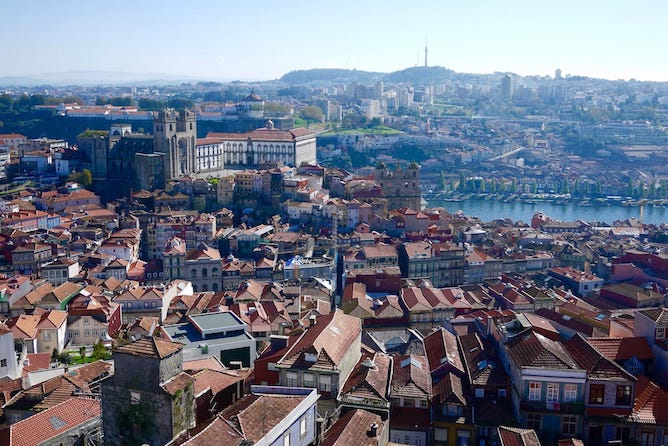 best viewpoint porto clerigos tower view over cathedral