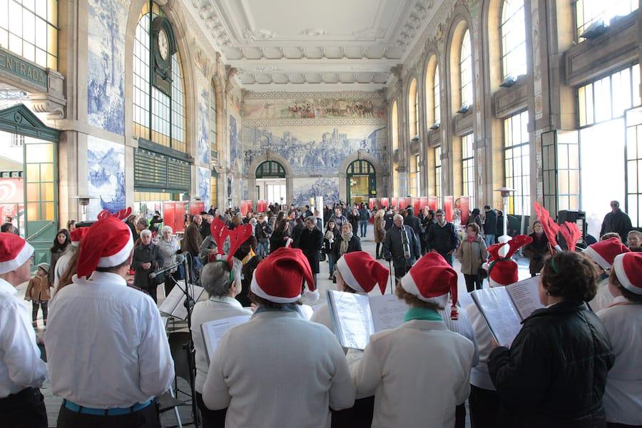 christmas markets porto arca natal