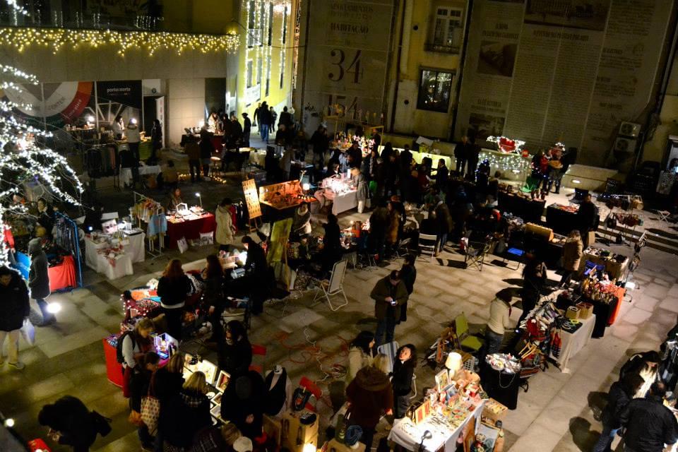 christmas markets porto urban market