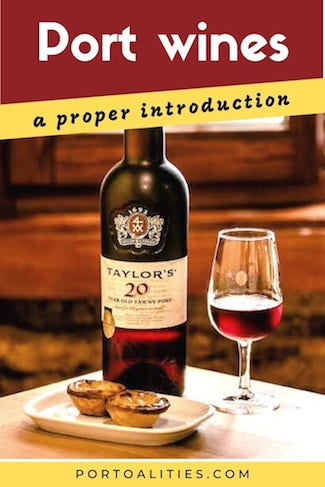 introduction to port wine tawny pastry