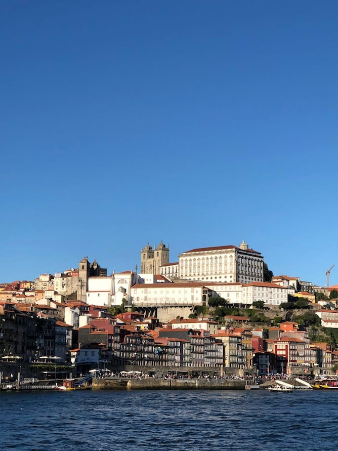 view from douro river six bridges cruise