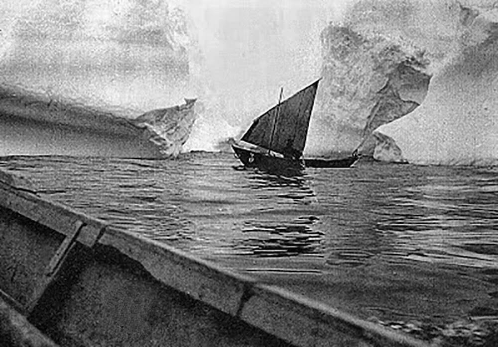 codfish fishing newfoundland icebergs