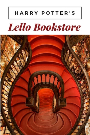harry potter lello bookstore porto