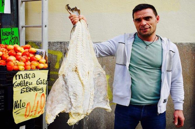 history codfish portugal