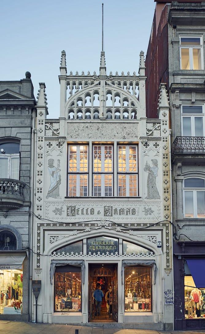 lello bookstore facade
