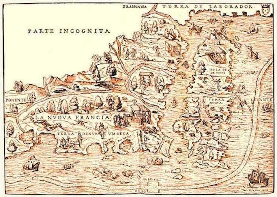 old map newfoundland