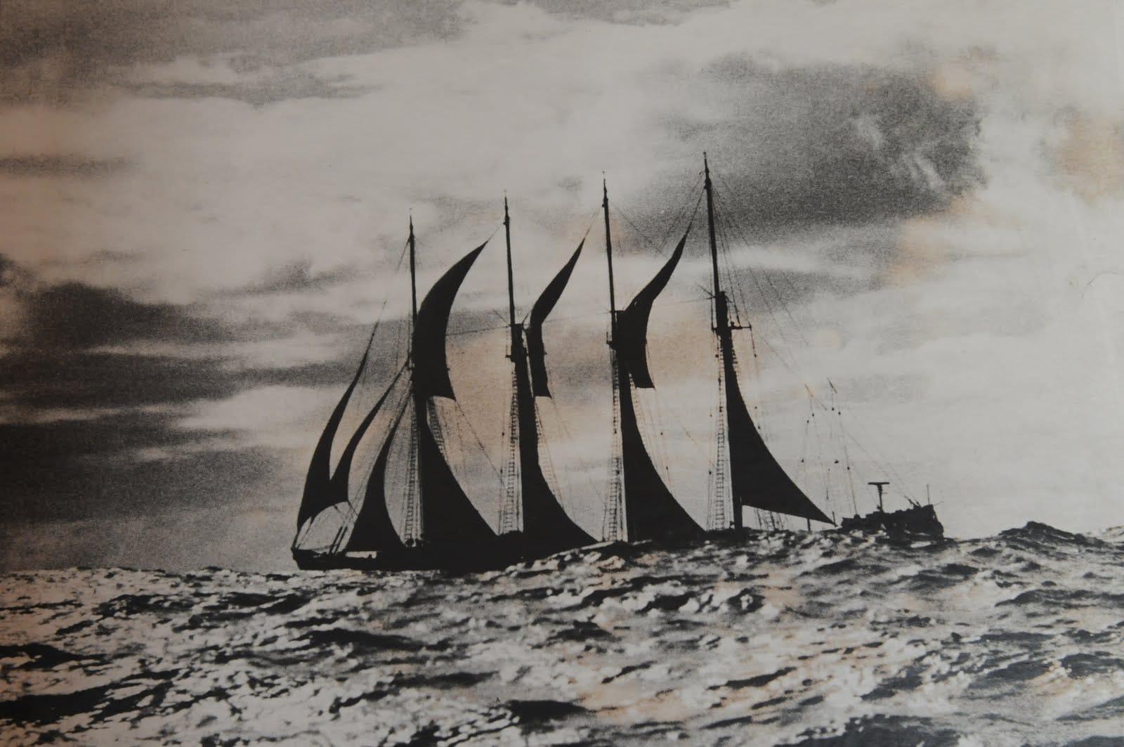 portuguese ancient ship fishing codfish
