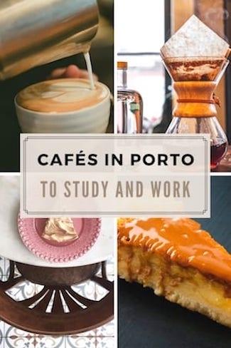 top cafes porto study work