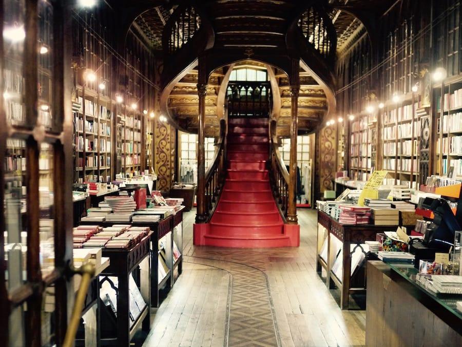 bookstore porto livraria lello