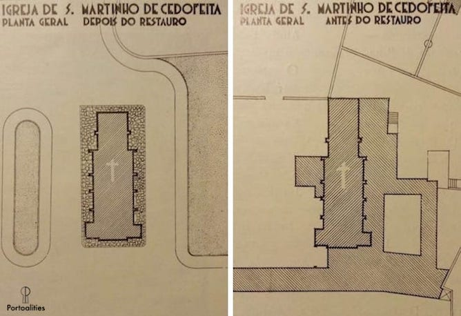 cedofeita church layout