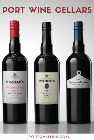 port wine bottles