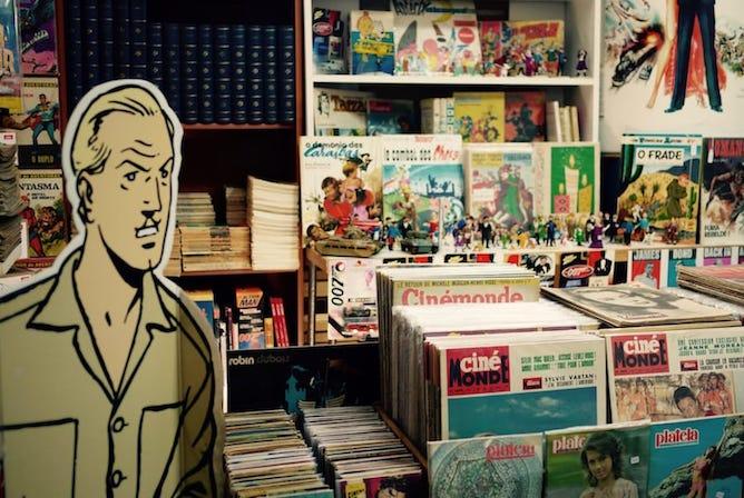 second hand bookshop porto tintim por tintim