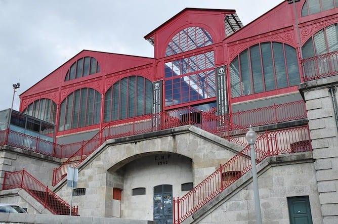 facade mercado ferreira borges porto