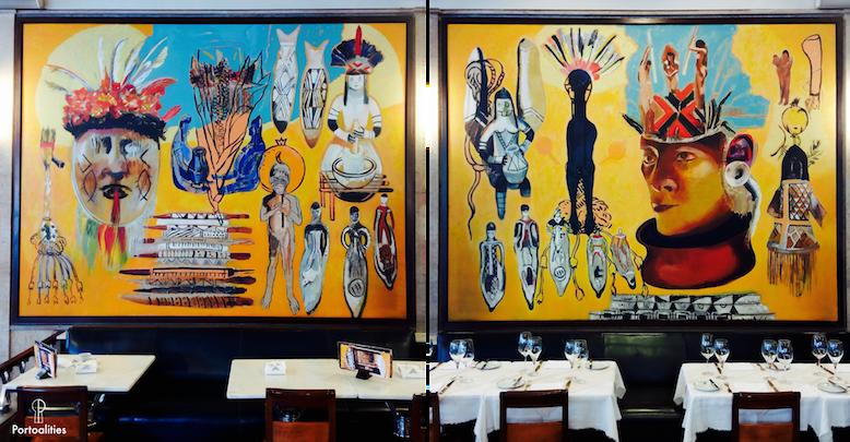 pintura gracas morais senhores amazonia cafe guarany porto