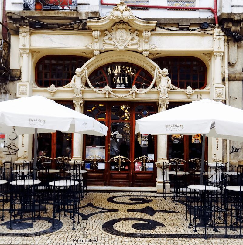 historia famoso cafe majestic porto fachada