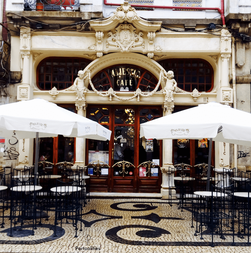 history famous cafe majestic porto exterior decor