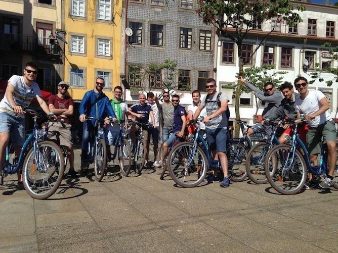 melhores tours bicicleta porto
