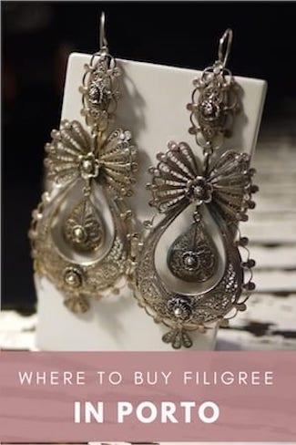 where buy portuguese filigree jewelry porto