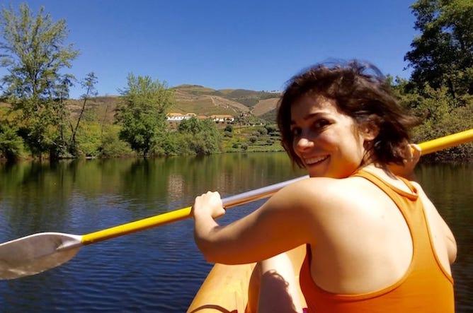 andar kayak rio tedo douro