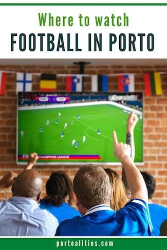 best bars watch football porto