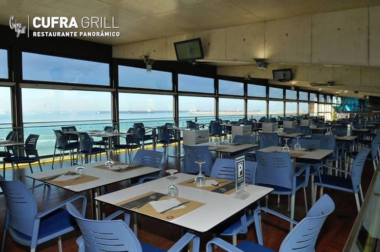 cufra grill restaurant panoramic view football porto