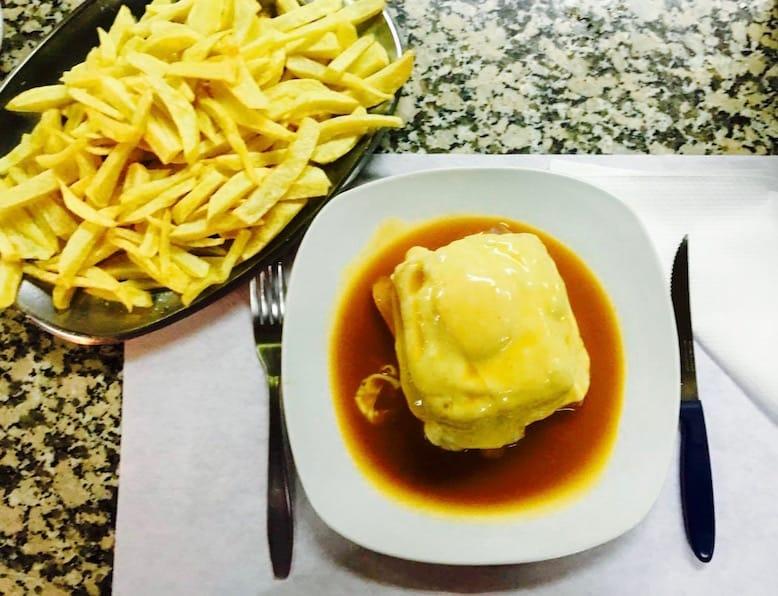 francesinhas downtown porto food portuguese gastronomy cantarinha restaurant