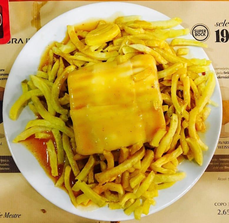 francesinhas downtown porto food portuguese gastronomy capa negra II restaurant