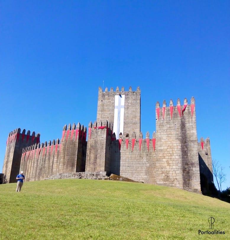 castelo guimaraes porto guimaraes viagem de um dia