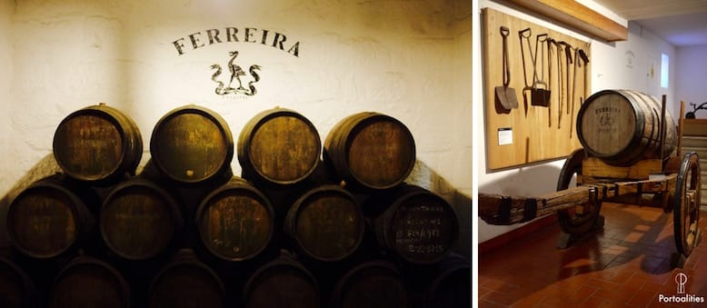 top port wine cellar ferreira