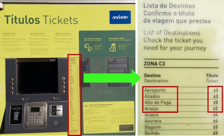 how buy tickets metro porto