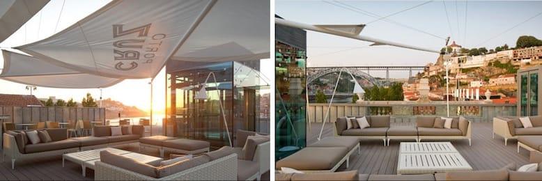 amazing rooftops porto terrace lounge 360