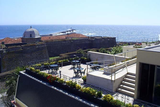 best rooftops porto ocean view