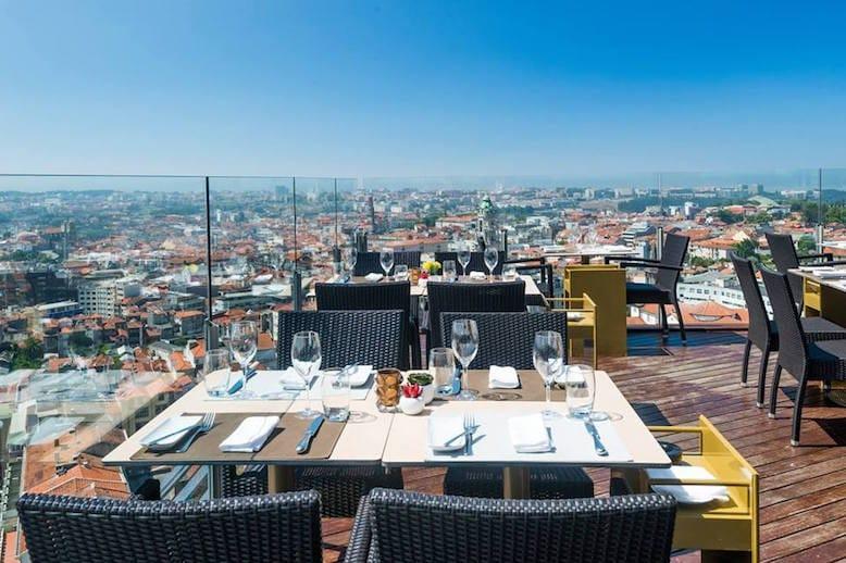 melhores rooftops porto 17 restaurante bar
