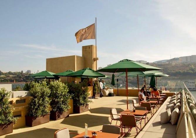 melhores rooftops porto douro lounge