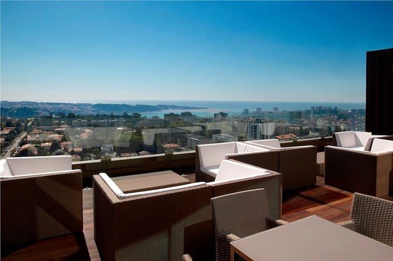 melhores rooftops porto vip lounge