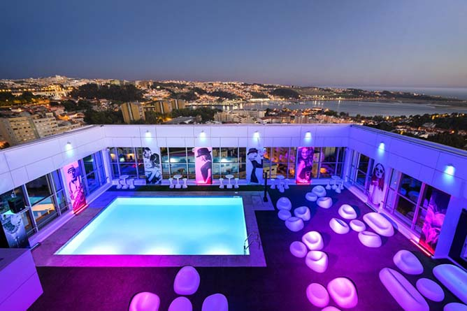 ontop night view rooftop porto