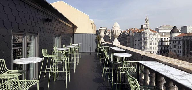 pestana downtown auru porto rooftop