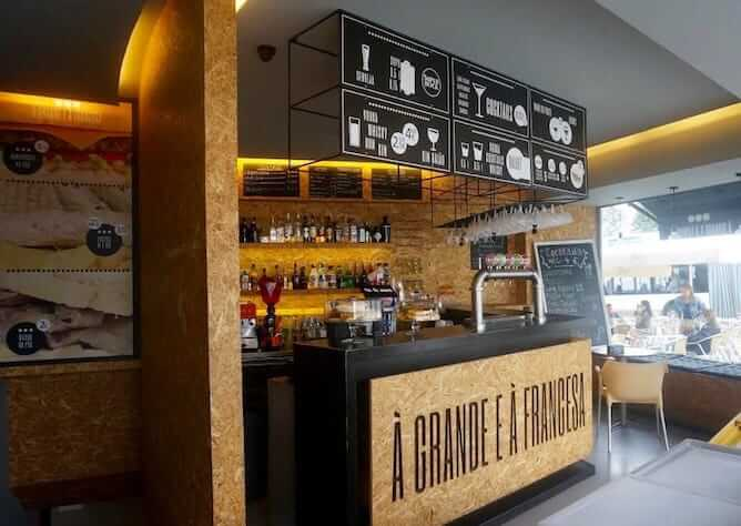 a grande e a francesa cheap bar porto