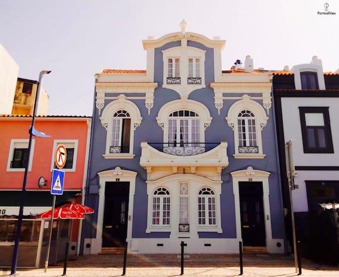 casa rossio art nouveau building aveiro