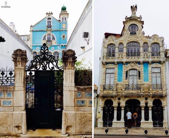 fachada museu arte nova aveiro