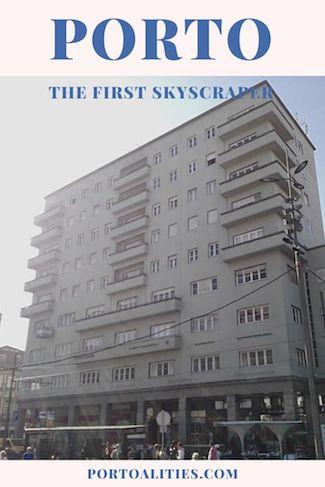 first skyscraper porto
