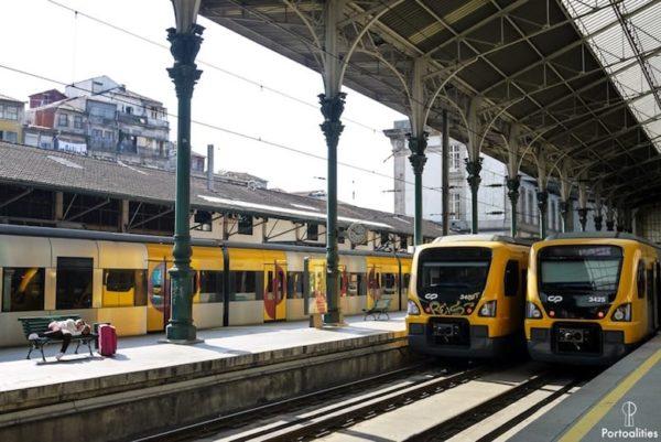 most beautiful train station porto
