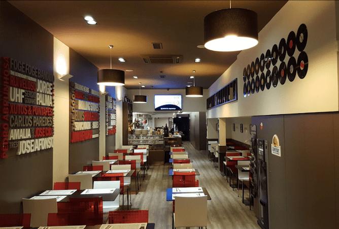 lado b restaurants big groups porto