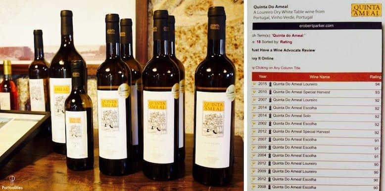 quinta ameal vinho verde portugal