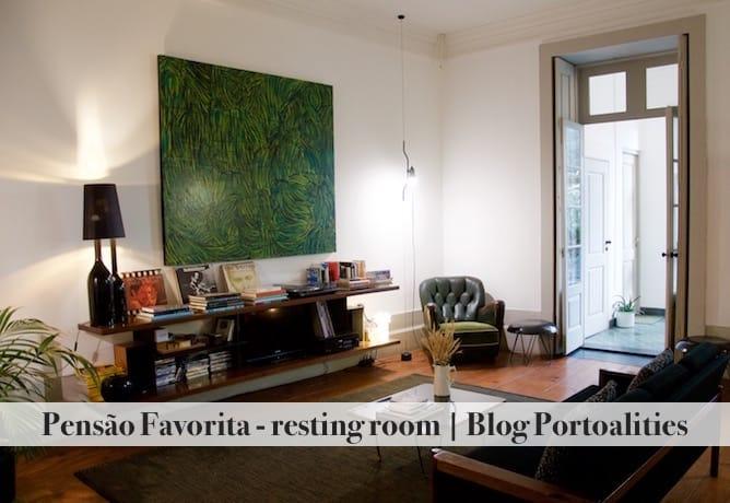 where to stay porto pensao favorita