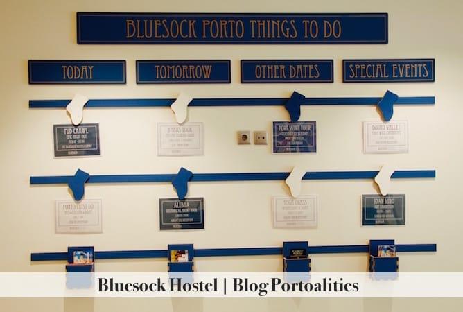 bluesock hostel porto activities guests
